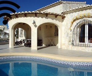 House   Benitachell 4 persons - private pool, sea view and internet p1