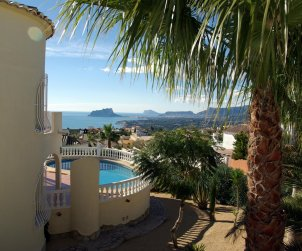 House   Benitachell 4 persons - private pool, sea view and internet p0