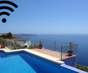 House   Benitachell 8 persons - private pool and beautiful sea view p0