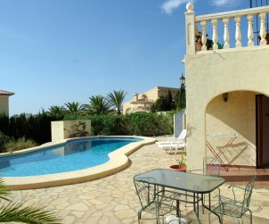 House   Benitachell 6 persons - private pool, sea view and internet p2