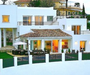 House   Marbella 10 persons - panoramic to the sea p0