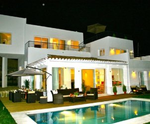 House   Marbella 10 persons - panoramic to the sea p1