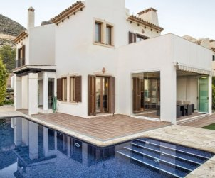 House   Benidorm 8 persons - private pool p0
