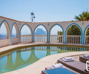 House   Calpe 8 persons - private pool, air conditioning and sea view p2