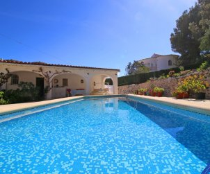 House   Calpe - for 5 persons with private pool and air conditioning p0