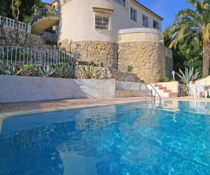 House   Calpe 7 persons - private pool, air conditioning and sea view p0
