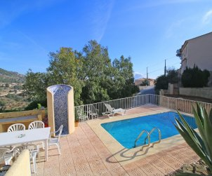 House   Calpe 7 persons - private pool, air conditioning and sea view p1