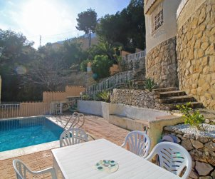 House   Calpe 7 persons - private pool, air conditioning and sea view p2
