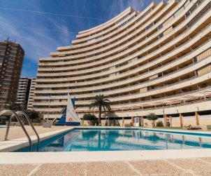 Flat   Calpe 2 persons - comunal pool p2