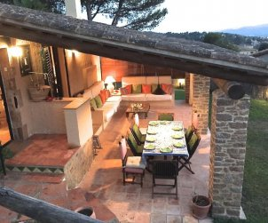 House  for 6 persons in Begur  with beautiful outdoor terrace and internet  p0
