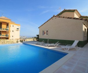 House   Benidorm 6 persons - private pool p0