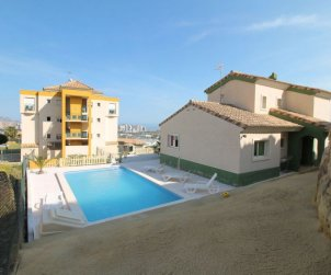 House   Benidorm 6 persons - private pool p1