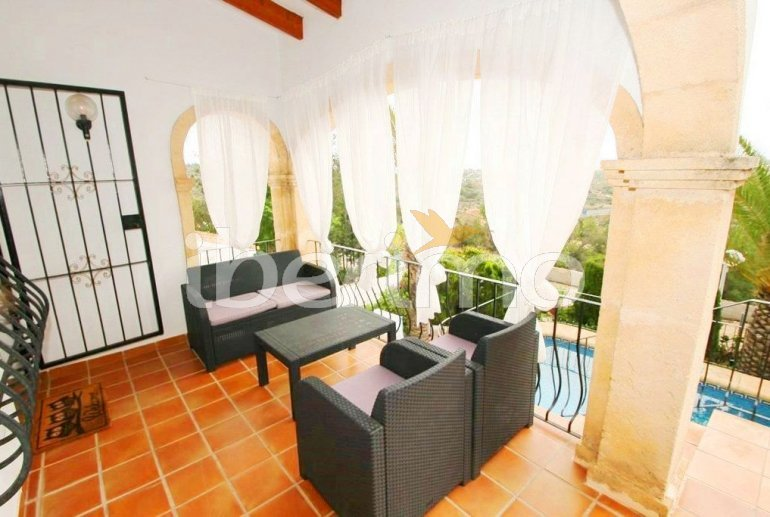 Villa  in Benissa  for 4 persons with private pool and air conditioning  p4