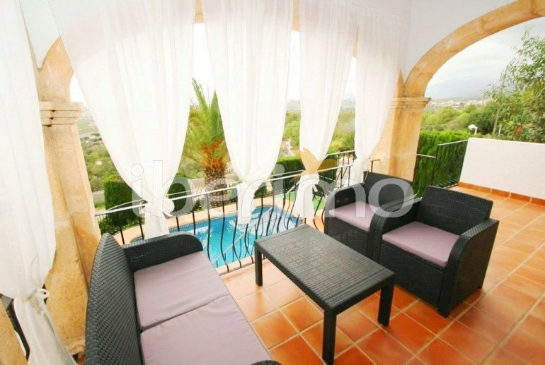 Villa  in Benissa  for 4 persons with private pool and air conditioning  p3