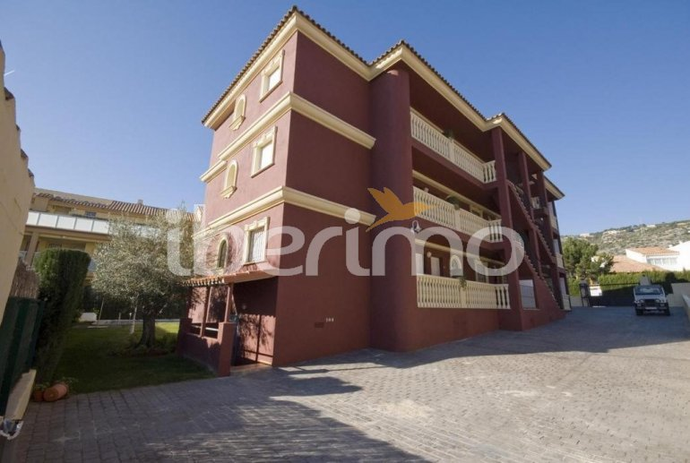 Flat  in Alcoceber  for 6 persons with shared pool, air conditioning and parking  p10