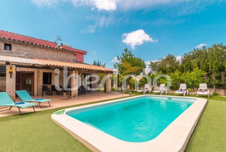 House   Búger 8 persons - private pool p0