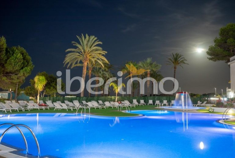 Family apartment  in Alcossebre  for 5 people in a hotel complex with communal pool and direct sea view  p16