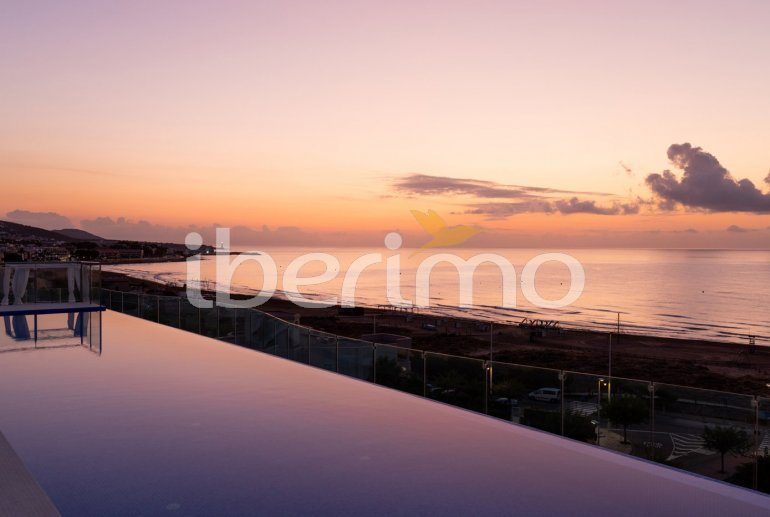 Family apartment  in Alcossebre  for 5 people in a hotel complex with communal pool and direct sea view  p23