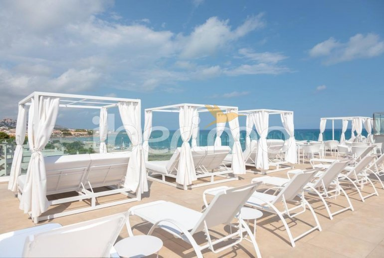 Family apartment  in Alcossebre  for 5 people in a hotel complex with communal pool and direct sea view  p18