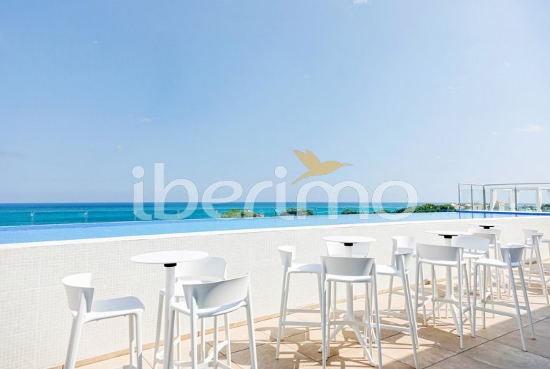 Family apartment  in Alcossebre  for 5 people in a hotel complex with communal pool and direct sea view  p21