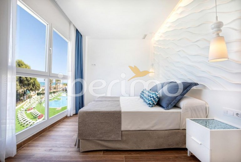 Family apartment  in Alcossebre  for 5 people in a hotel complex with communal pool and direct sea view  p10