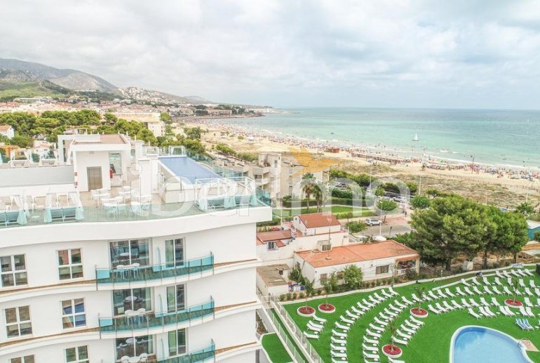 Family apartment  in Alcossebre  for 5 people in a hotel complex with communal pool and direct sea view  p38