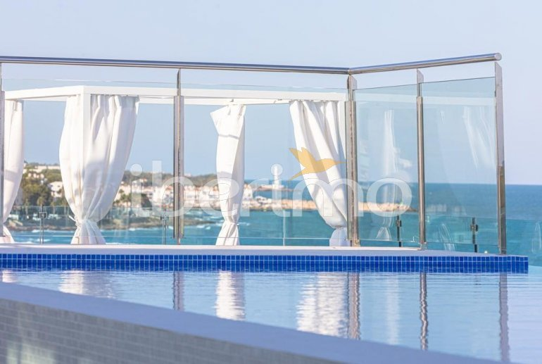 Family apartment  in Alcossebre  for 5 people in a hotel complex with communal pool and direct sea view  p19