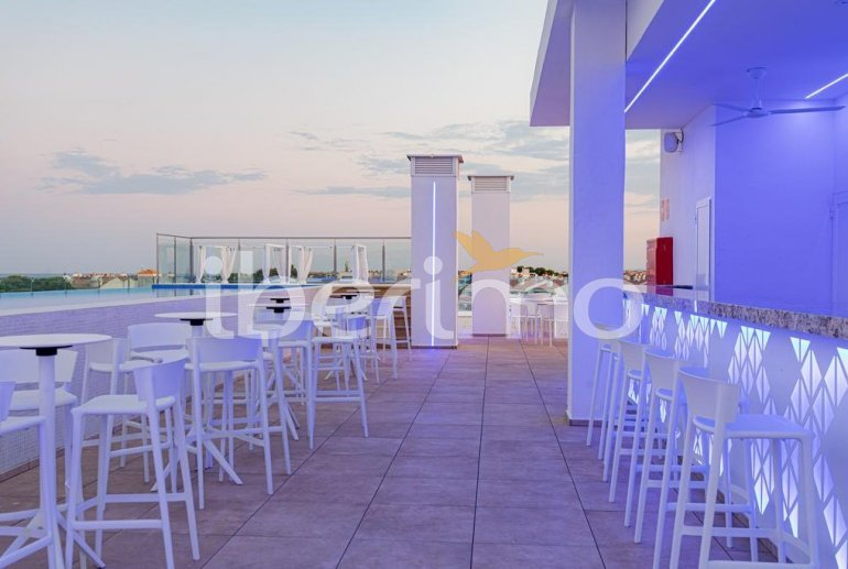 Family apartment  in Alcossebre  for 5 people in a hotel complex with communal pool and direct sea view  p20