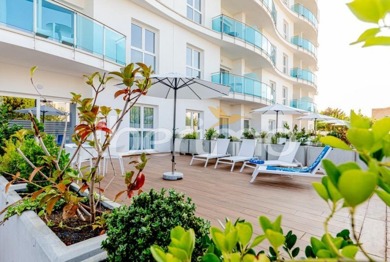 Apartment  in Alcossebre  for 5 people in a hotel complex with communal pool, large terrace and seafront  p0
