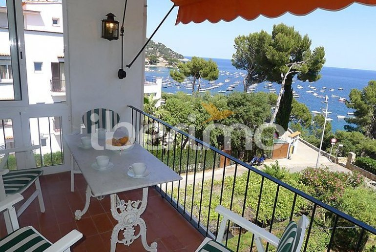 Flat   Calella de Palafrugell 6 persons - panoramic to the sea p0