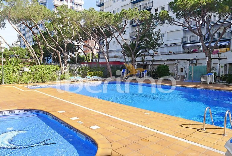 Flat   Blanes 4 persons - comunal pool p1