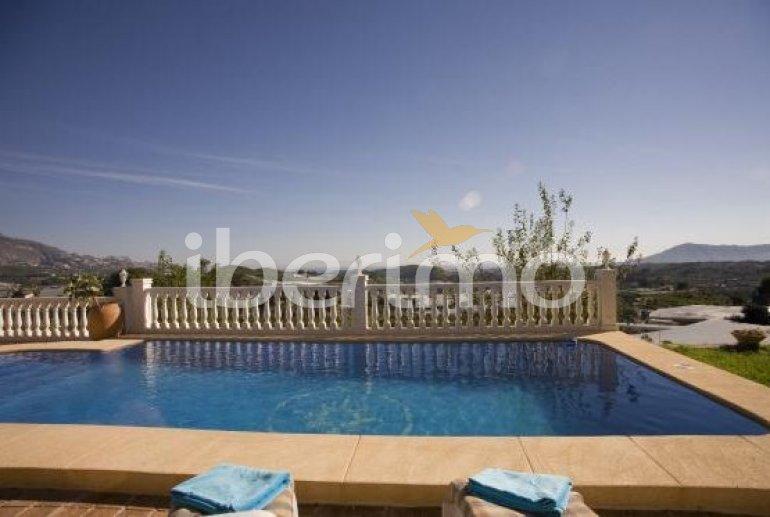 House   Callosa d´En Sarria - Confrides 8 persons - private pool p2