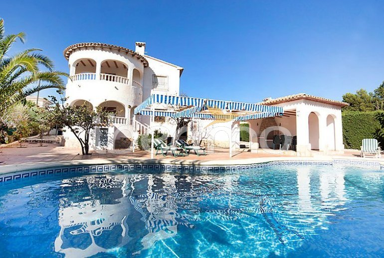 House   Calpe 6 persons - private pool p0