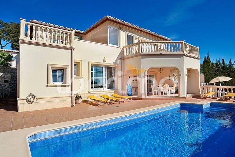 Flat   Moraira 4 persons - private pool p0