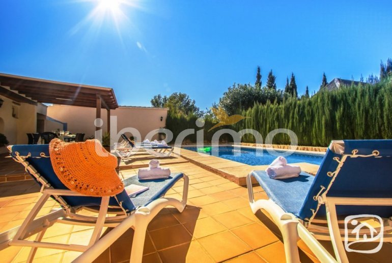 House   Benissa 12 persons - private pool, sea view and internet p5