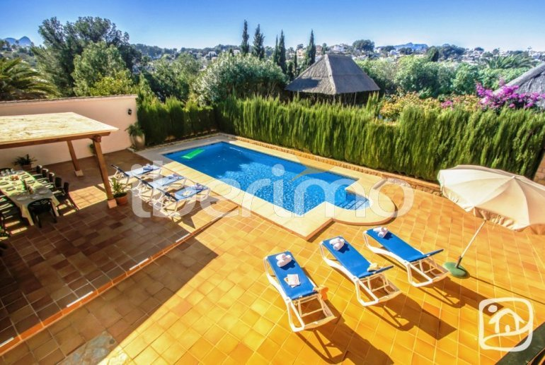 House   Benissa 12 persons - private pool, sea view and internet p7
