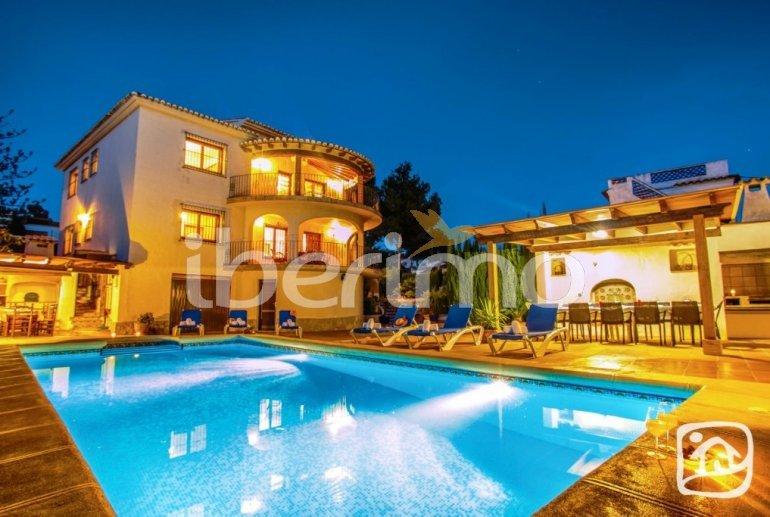 House   Benissa 12 persons - private pool, sea view and internet p1