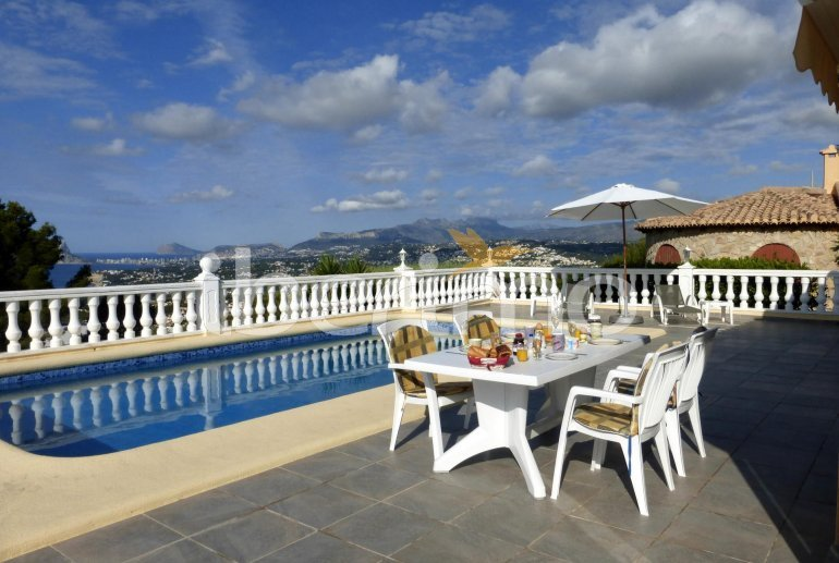 House   Benitachell 6 persons - private pool, sea view and internet p0