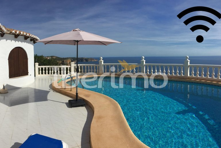 House   Benitachell 4 persons - private pool and sea view p0