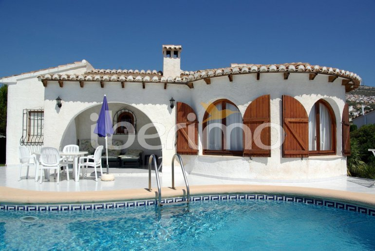 House   Benitachell 4 persons - private pool and sea view p24