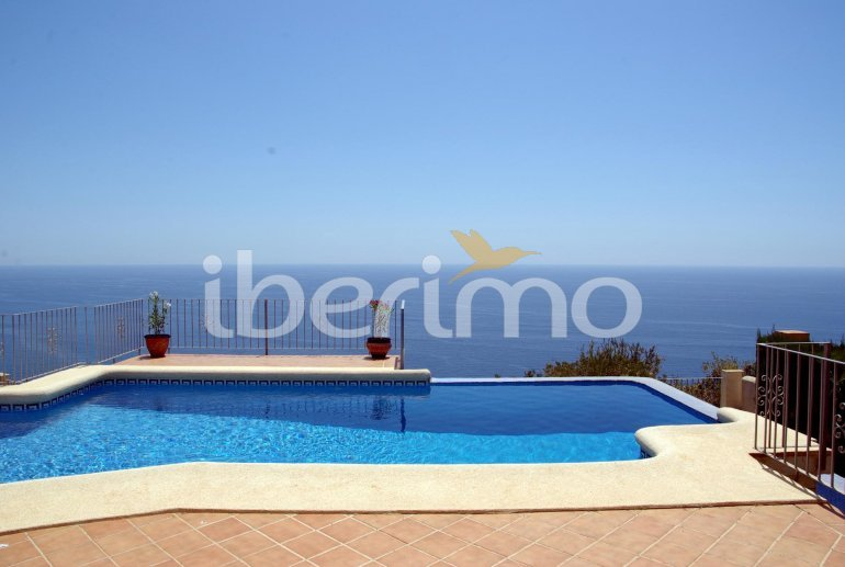 House   Benitachell 6 persons - private pool and beautiful sea view p1