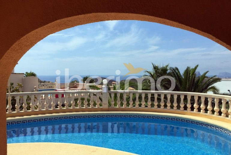 House   Benitachell 6 persons - private pool, sea view and air conditioning p1