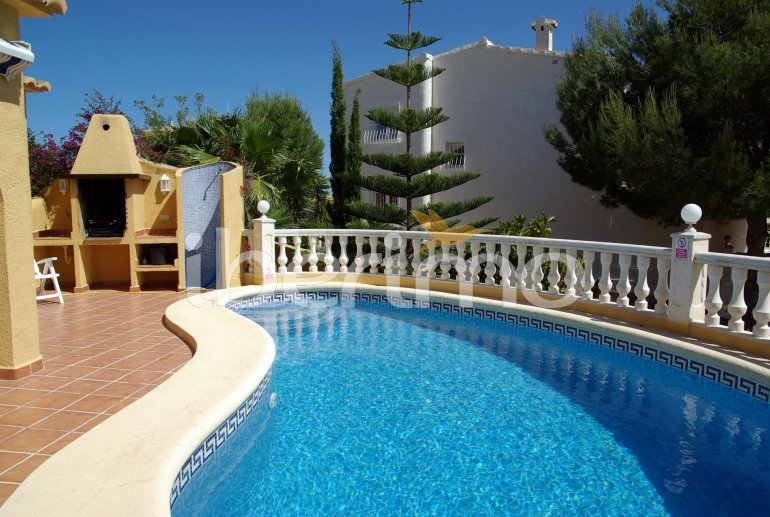 House   Benitachell 6 persons - private pool, sea view and air conditioning p4
