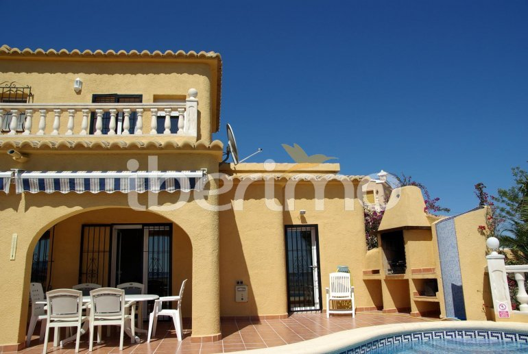 House   Benitachell 6 persons - private pool, sea view and air conditioning p6